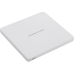LG Hitachi-LG GP60NW60 8x DVD-RW USB 2.0 White Slim External Optical Drive