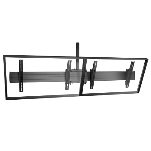"Chief LCM2X1U flat panel ceiling mount 139.7 cm (55"") Black"