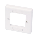 Lindy Wall dose 86x86mm UK White flat panel wall mount