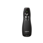 Logitech R400 apuntador inalámbricos RF Negro