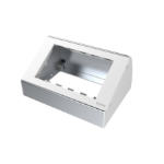 Vision TC3 BACKBOX2GT White electrical box