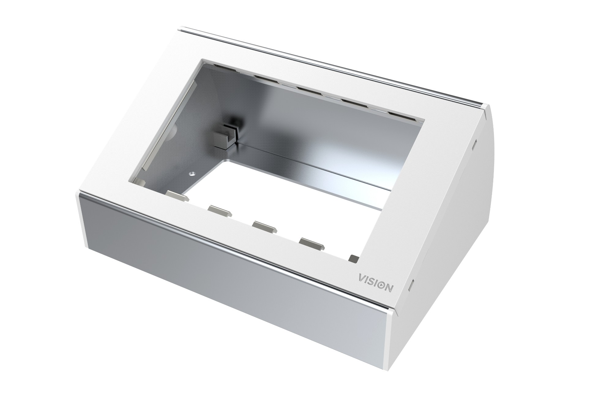 Vision TC3 BACKBOX2GT caja electrica Blanco