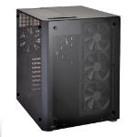 Lian Li PC-O8 WX Midi-Tower Black computer case