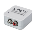 Lindy 70409 audio converter White