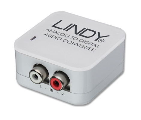Lindy 70409 audio converter White