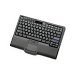 IBM Keyboard with Integrated Pointing Device - USB - UK English Black
