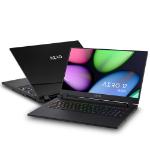 """Gigabyte AERO 17 HDR YB-9UK4750SP Notebook Black 43.9 cm (17.3"""") 3840 x 2160 pixels 10th gen Intel® Core™ i9 64 GB DDR4-SDRAM 1000 GB SSD NVIDIA GeForce RTX 2080 SUPER Wi-Fi 6 (802.11ax) Windows 10 Pro"""