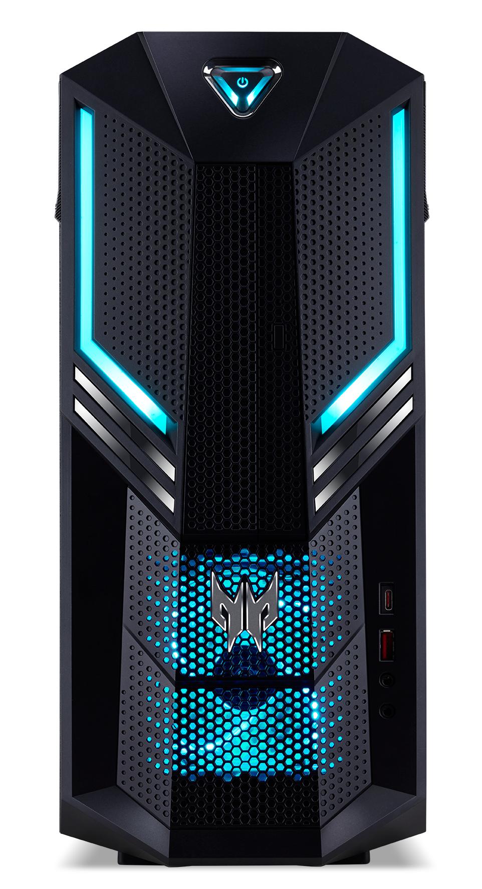 Acer Predator Orion 3000 600 I72070-01 Intel® 8ste generatie Core™ i7 i7-8700 16 GB DDR4-SDRAM 1256 GB HDD+SSD Zwart Toren PC