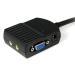 StarTech.com 2 Port VGA Video Splitter with Audio - USB Powered ST122LEA