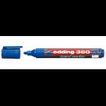 Edding 360 marker 1 pc(s) Bullet tip Blue