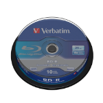 Verbatim BD-R SL 25GB 6 x 10 Pack Spindle 10 pc(s)