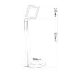 Newstar tablet vloersteun voor 9.7-10.1 tablets