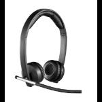 Logitech H820e RF inalámbrico Monoaural Diadema Negro auricular con micrófono