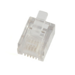 Microconnect KON501-50 RJ11 Doorschijnend kabel-connector