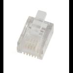 Microconnect KON501-50 RJ11 Translucent wire connector