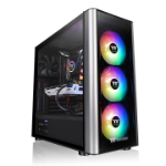 Thermaltake Level 20 MT ARGB Midi-Tower Black,Silver