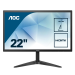 "AOC 22B1HS pantalla para PC 54,6 cm (21.5"") Full HD LED Plana Negro"