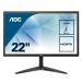"""AOC Basic-line 22B1HS pantalla para PC 54,6 cm (21.5"""") 1920 x 1080 Pixeles Full HD LED Plana Negro"""