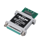 Black Box IC1520A-F serial converter/repeater/isolator RS-232 RS-485 Green, Grey