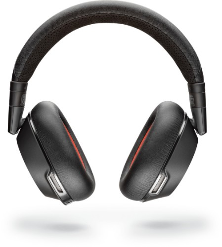 Plantronics Voyager 8200 UC mobile headset Binaural Head-band Black Wired & Wireless