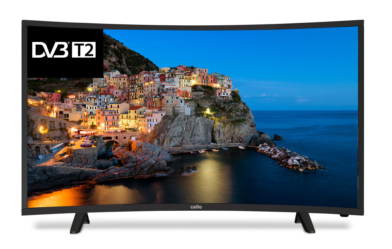 "Cello C40229T2 40"" HD Black LED TV"