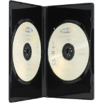 Ednet 5 DVD Double Box 2 discs Black