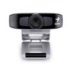 Genius FaceCam 320 640 x 480pixels USB 2.0 Black,Silver webcam