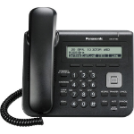 Panasonic KX-UT113X Wired handset LCD Black IP phone