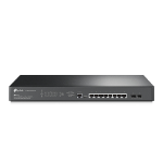 TP-LINK TL-SG3210XHP-M2 network switch Managed L2+ Black
