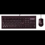Keytronic TAG-A-LONG-U2 USB QWERTY Black keyboard
