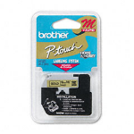 Brother M821 Gold printer label