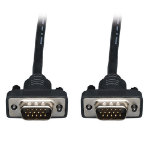 """Tripp Lite 10ft, VGA - VGA VGA cable 120.1"""" (3.05 m) VGA (D-Sub) Black"""