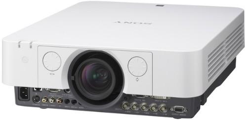 Sony VPL-FX35 data projector 5000 ANSI lumens LCD XGA (1024x768) Desktop projector Gray, White