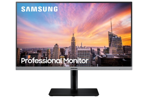"Samsung LS24R650FDU LED display 60.5 cm (23.8"") 1920 x 1080 pixels Full HD Black, Gray"
