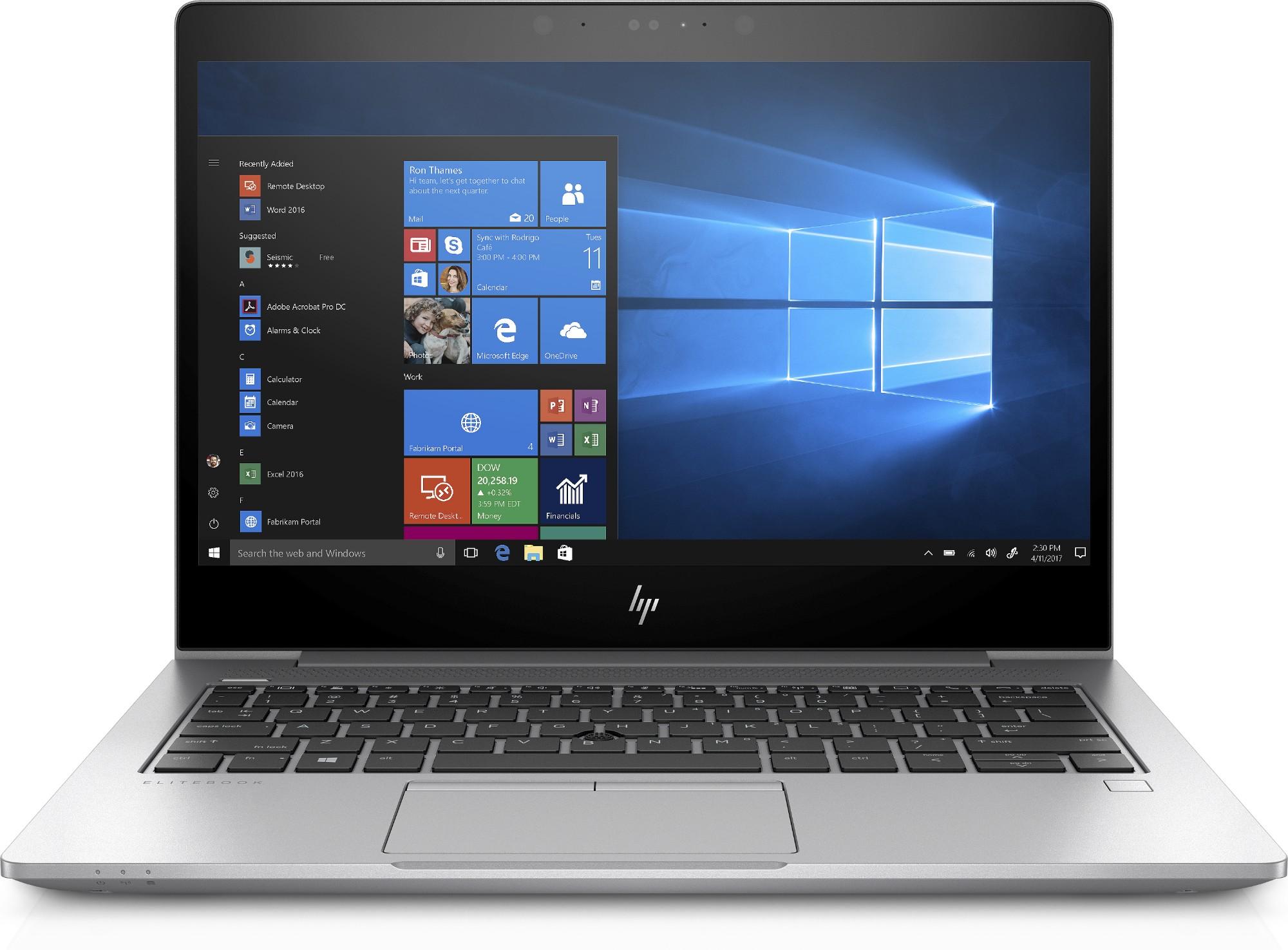 "HP EliteBook 830 G5 Silver Notebook 33.8 cm (13.3"") 1920 x 1080 pixels 8th gen Intel® Core™ i5 16 GB DDR4-SDRAM 256 GB SSD Windows 10 Pro"