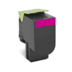 Lexmark 70C8XM0 Cartridge 4000pages Magenta laser toner & cartridge
