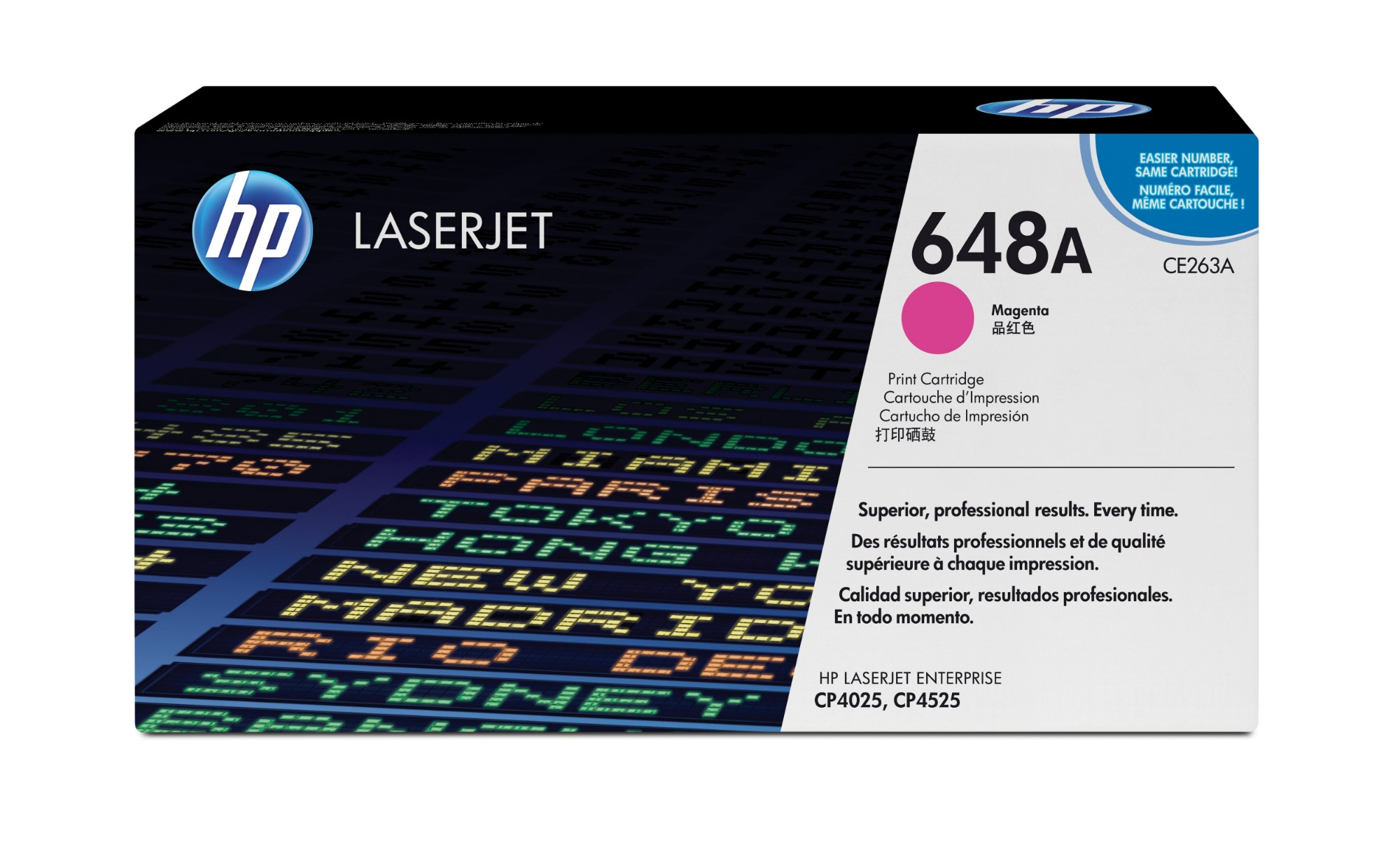 HP CE263A (648A) Toner magenta, 11K pages