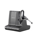 Plantronics Savi W730-M Ear-hook Monaural Wireless Black mobile headset