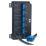 Hewlett Packard Enterprise 5xC13 Intelligent PDU 5AC outlet(s) Black,Blue power extension