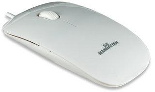 Manhattan Silhouette USB Optical 1000DPI White mice