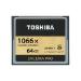 Toshiba EXCERIA PRO C501 64GB 64GB CompactFlash memory card
