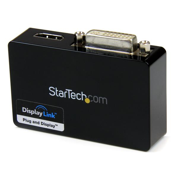 StarTech.com USB 3.0 to HDMI and DVI Dual Monitor External Video Card Adapter