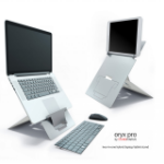 Standivarius A Standivarius product; the ORYX Pro is a compact lightweight adjustable two-in-one Laptop/Tablet. I