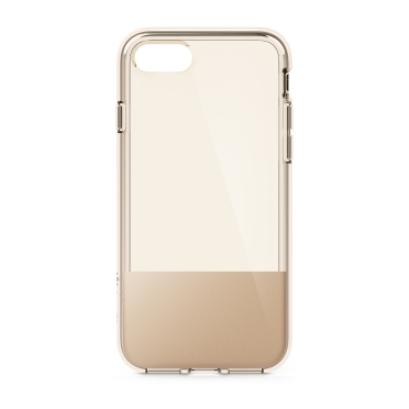 "Belkin SheerForce mobile phone case 11.9 cm (4.7"") Cover Gold,Translucent"