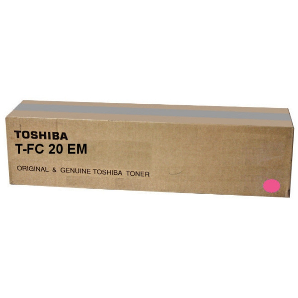 Toshiba 6AJ00000068 T-FC 20 EM Toner magenta, 16.8K pages @ 6 coverage