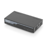 Digitus DN-60012 network switch Unmanaged Fast Ethernet (10/100) Black