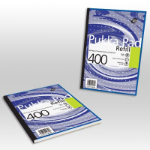 Pukka PUKKA PAD A4 REFILL 400SHEET ASSORTED