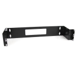 StarTech.com WALLMOUNTH2 Wall mounted 2U Black Rack