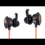 COUGAR Gaming megara Binaural Ear-hook, In-ear Black, Orange headset