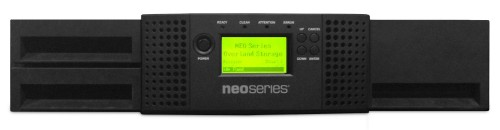 Tandberg Data NEOS T24 tape auto loader/library 144000 GB 2U Black